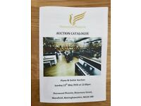 Grand Piano & Guitar Auction Catalogue - May 2018 - Sherwood Phoenix