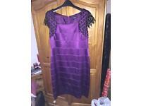 Purple dress size 18