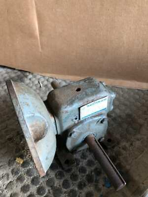 Perfection Gear Sa11112s Right Angle Worm Gear Speed Reducer 101 1.77hp