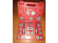 new 22pc universal Disc Brake Caliper Piston Rewind Tool Set
