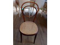 Antique Vienna Chair Handcraft Straw Seat