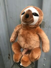 Wholesale Ice Age theme Sloth, UK stock, High quality,20cm