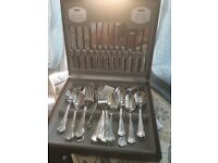 Viners Kings Royal 44 piece canteen cutlery set