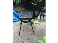 Charcoal Oil Drum BBQ with Cover