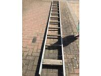 Youngmans aluminium board staging deck length 4.82 meters
