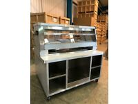 Henny Penny Fryers - HCW3 - Heated Display Warmer & Speedpack Table ( NEW & FREE UK Delivery )