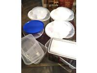 6 x Food / Picnic containers