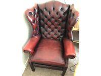Beautiful Vintage Leather Armchair