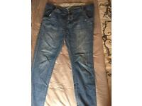 Maternity jeans size 16