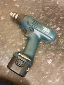Black & decker kc96v cordless drill