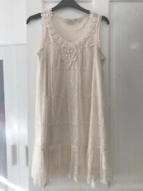 New Look Cream Dress