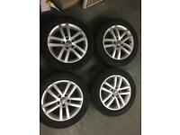 "SET OF GENUINE VW GOLF GT 16"" ALlOYS fit Seat vw Audi"