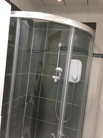 Quadrant shower cubicle for sale
