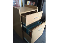 Small drawers with 1 filing drawer