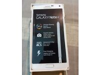 SAMSUNG NOTE 4 WHITE 32GB UNLOCKED BOXED PHONE1