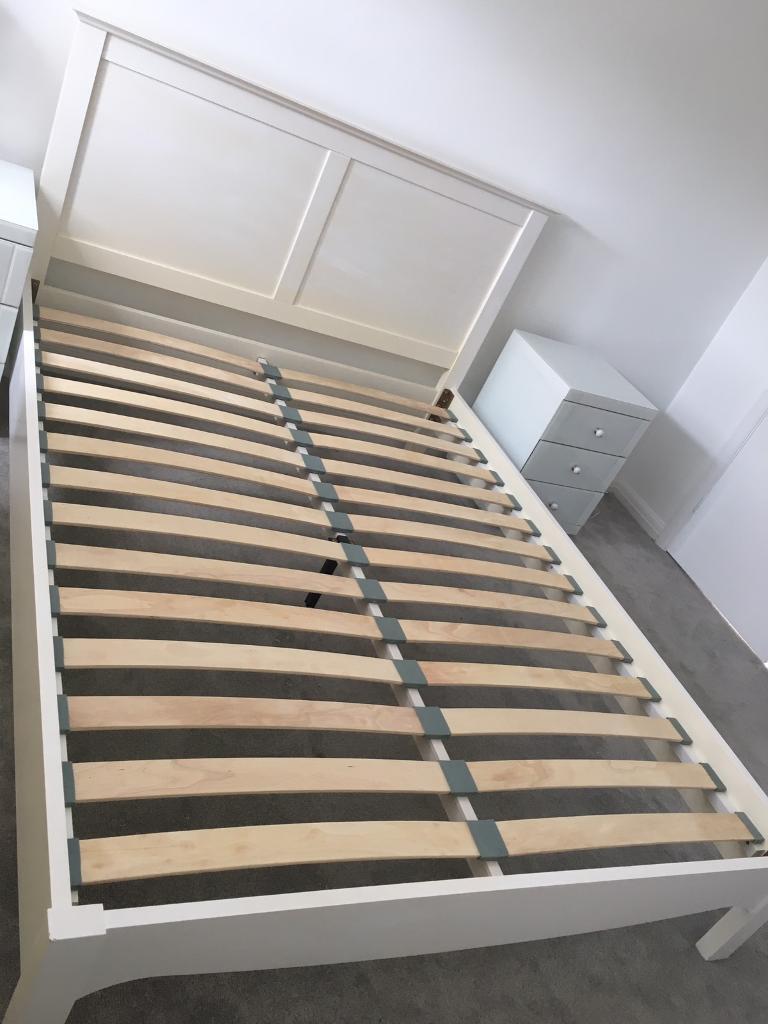 King Size John Lewis Wooden Bed Frame