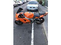 Kawasaki zx6r 600cc ideal first bike