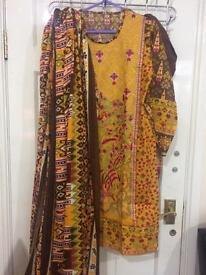 Khaadi designer Pakistani suit
