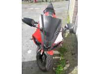 Reiju rs3 125cc *BUY AS SEEN*