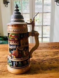 German beer tankard