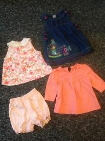 Girls 0-3 months 50p each