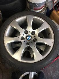 4 x 17inch BMW wheels taken off a 3 series e9+