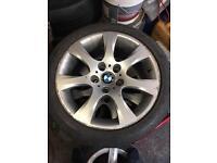 4 x 17inch BMW wheels taken off a 3 series e9+