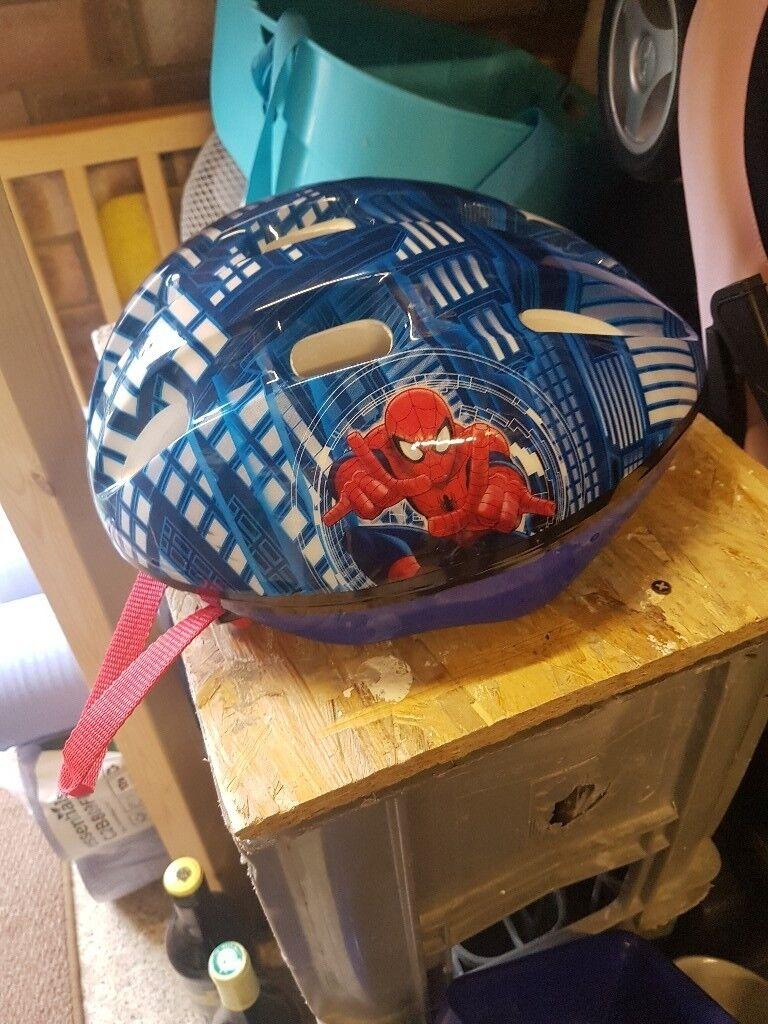 Spinderman helmet