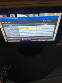 """26"""" LG Freeview TV with tv stand must be sold together"""