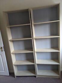 Children's bookcase x 2