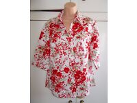 Brand new Laura Ashley floral print linen top
