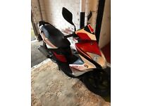 Kymco super 8 125 cc just over 1 year old