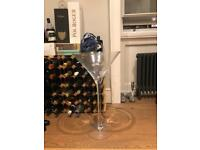 Giant Martini glass handmade by LSA