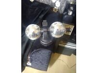 TWIN BALL DISCO LIGHT