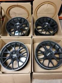 "20"" original bbs motorsport wheels"