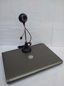 CHEAP FAST DELL LATITUDE Laptop - WEBCAM Wireless DVD/CDRW Win XP Open Office