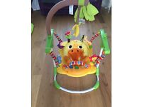 Mothercare jumperoo baby activity bouncer