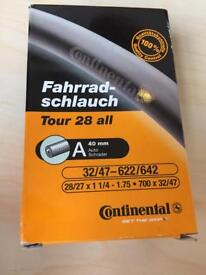 4x Continental Quality Road Inner Tube