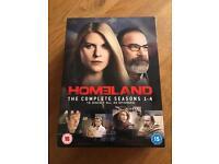 Homeland DVD Boxset series 1-4