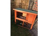 Rabbit guinea pig hutch