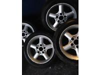 16 inch Bmw alloys with tyres