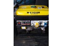 Wolf WP2850 Petrol Generator