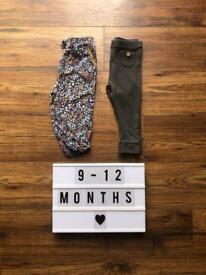 9-12 Month Leggings & Trouser