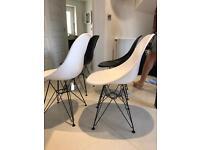 4 John Lewis Vitra Eames Chairs