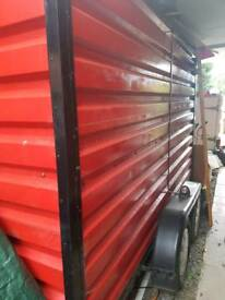 Large metal Box trailer 5 by 10 foot