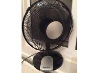 Honeywell black/silver fan