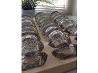 Top Quality thick Glass Tea Light Holders - Perfect for Wedding Decorations