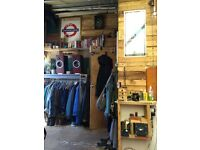 Quirky room available immediately in friendly residential warehouse in North London