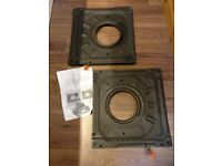 Pair of FASP VW T4 Swivel Plates - Driver + Passenger (for 1997 onwards)