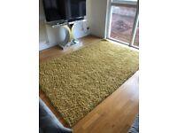 Very large Yellow/ mustard rug